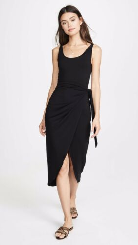 Reformation Kaila Wrap Style Jersey Dress: Size M: