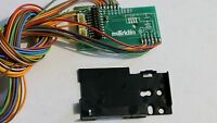 Märklin 260034 Circuit Board & Retaining Plate 405040 For Use W 21 Pin Decoder