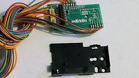 Märklin 260034 Circuit Board & Retaining Plate 405040 For Use W 21 Pin Decoder