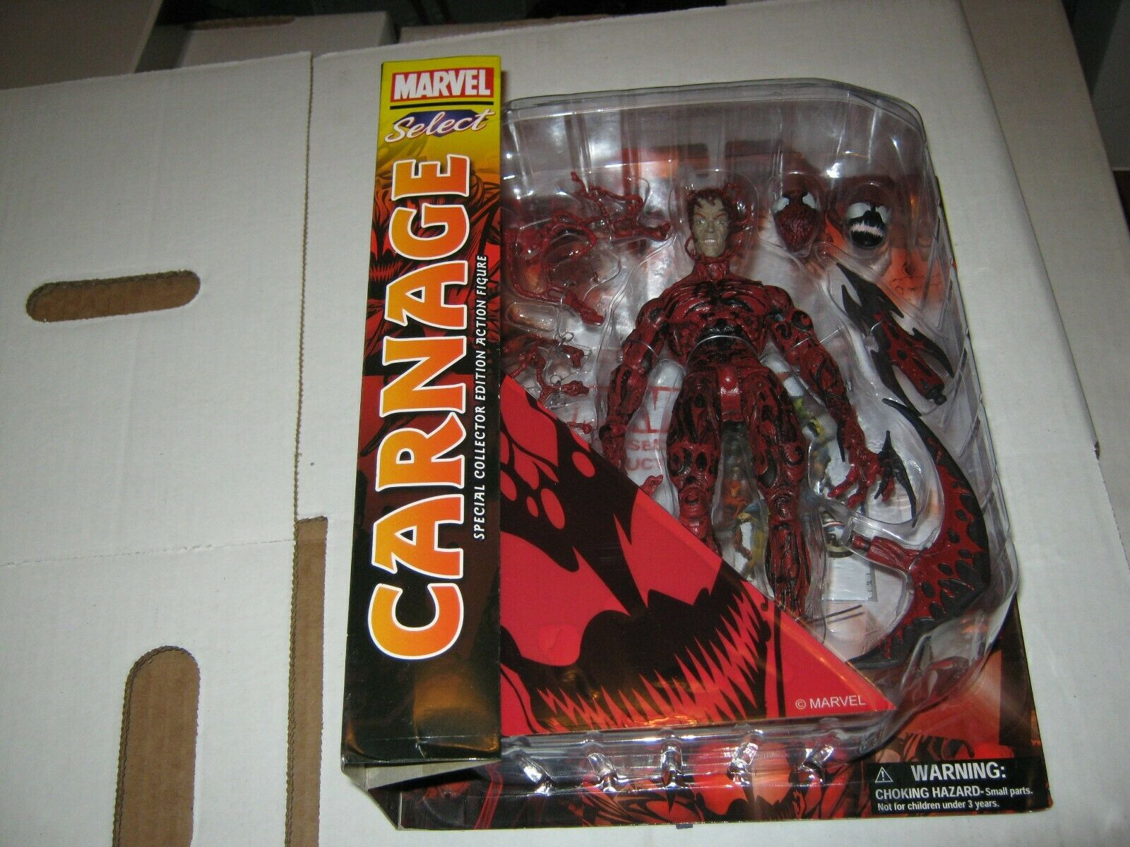 Diamond Select Toys Marvel Carnage Action Figure Discontinued by manufacturer