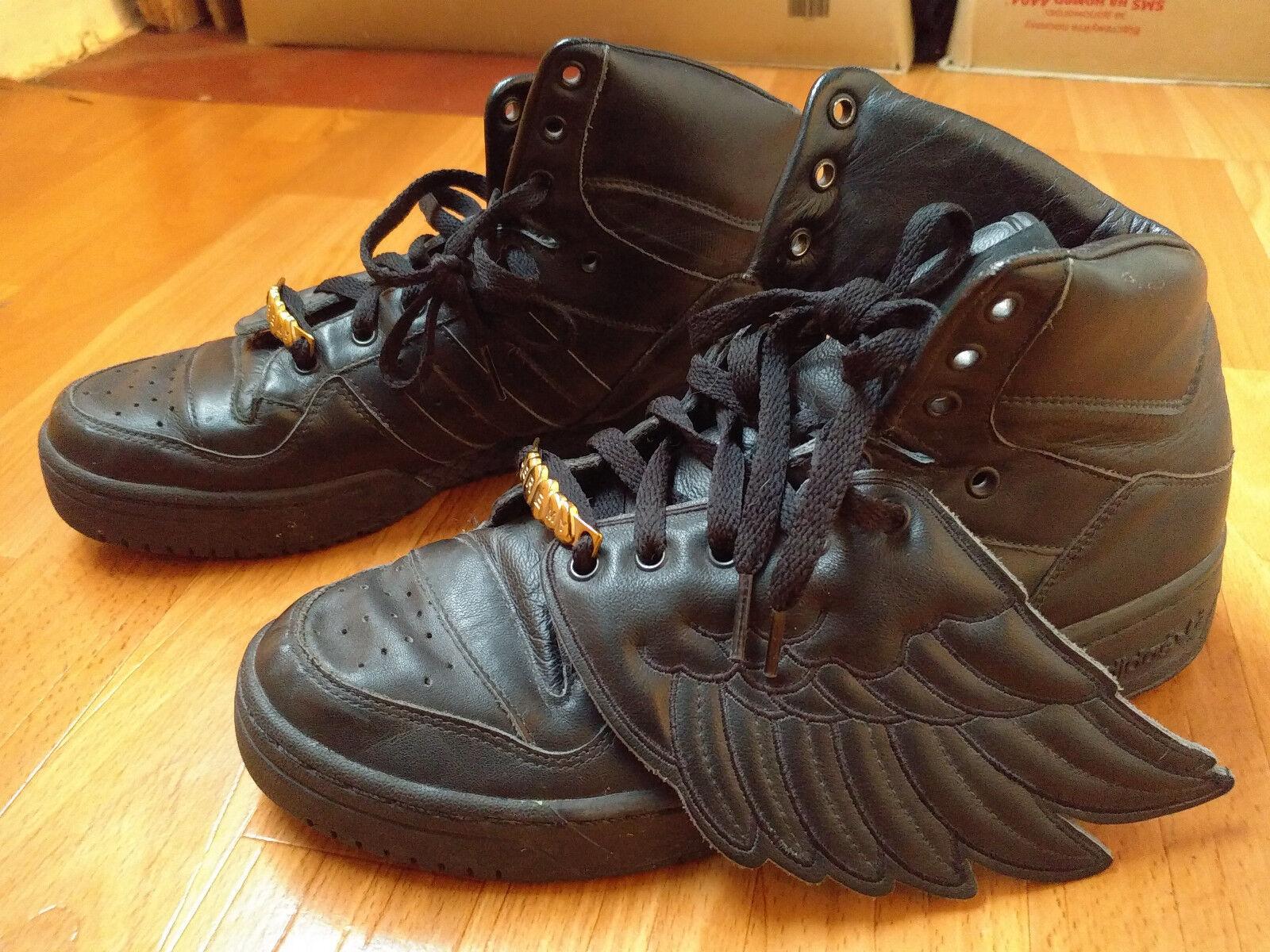 Adidas Jeremy Scott Sneakers Wings Blackout 2.0 Instinct shoes G00616 size 8,5