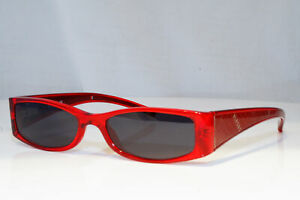 VERSUS-Womens-Designer-Sunglasses-Red-Rectangle-IMMACULATE-8073-751-10797