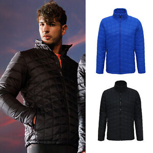 Mens Ultralight Thermo Quilt Winter Running Jogging Fitness Sport Workout Jacket