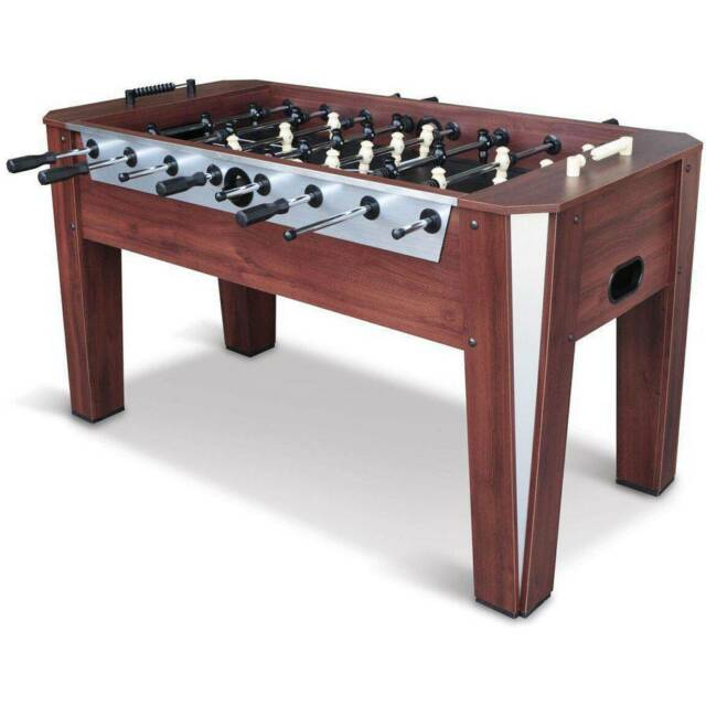 Incredible Foosball Soccer Table 60 Competition Sized Arcade Game Room Hockey Fooseball Home Interior And Landscaping Elinuenasavecom