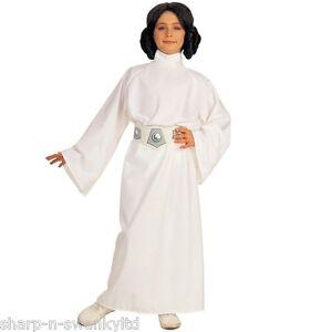 nina-Star-Wars-Princesa-Leia-Dia-del-libro-Peluca-Disfraz-3-10-ANOS