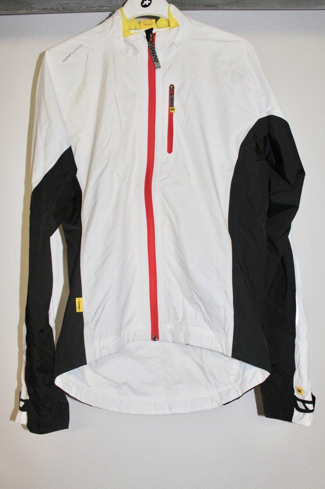 Mavic Jacket sprint h2o blanco negro talla m