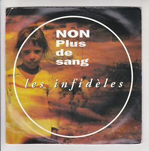 THE-INFIDELS-Vinyl-45T-7-034-NON-PLUS-OF-BLOOD-BIKE-ANGELS-TREMA-410516-RARE
