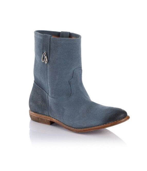 GUESS UK VIVA Blau SUEDE LEATHER ANKLE Stiefel BOOTIE SIZE UK GUESS 6 39  NEW bc7eb1