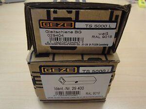 Obentürschließer GEZE TS 5000 L silber  mit Gleitschiene