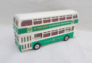 Vintage-DINKY-TOYS-293-Atlante-Bus-BP-MECCANO-LTD-Made-in-England