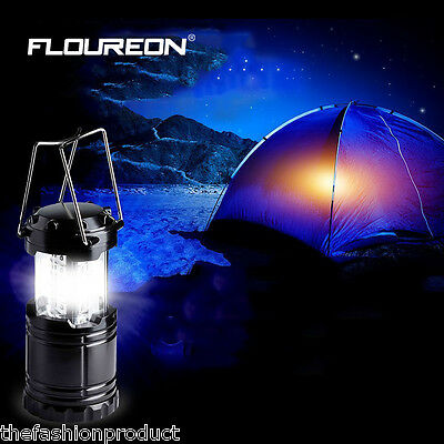 Portable 30LED Camping Outdoor Hiking Tent Lantern Fishing Foldable Light Lamp