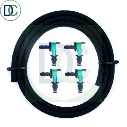 Inyector Diesel Fugas De Conector Tubo de combustible de fugas para Ford Transit 2.2 FWD