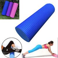 45x15cm Physio Eva Foam Yoga Pilates Roller Gym Back Exercise Home Massage Usa