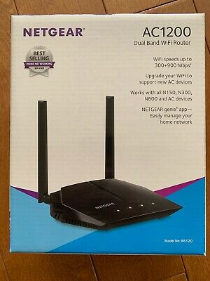 Fast Ethernet NETGEAR AC1200 Dual Band Smart WiFi Router ...