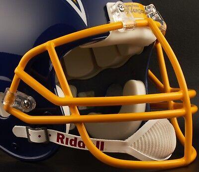 Schutt Super Pro NJOP Football Helmet Facemask Faceguard GOLD YELLOW