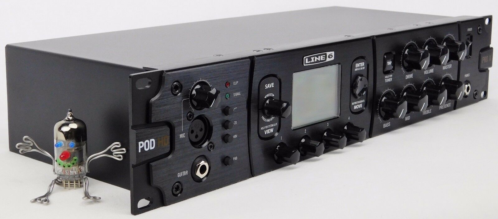 Line 6 Pod HD ProX Guitar Modeling Processor + Neuwertig + 2 Jahre Garantie