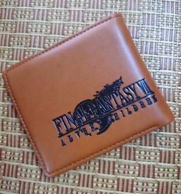 Final Fantasy Wallet LeatherPU Unisex Men Women Button Cosplay Wallet advent