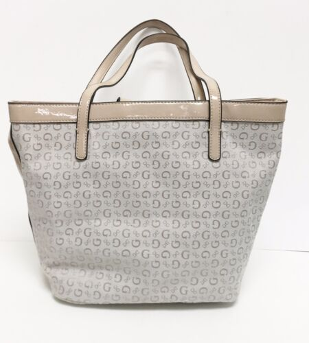 Hand tote purse Leatherette New Nude Shoulder guess Shiny 885935759601 Bag  Tansy beige fXv0q 512d582f5a9ba