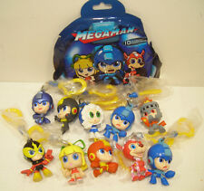 Mega Man BACKPACK HANGERS Complete Set of 10 Video Game NES Capcom Just Play