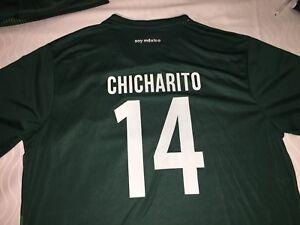 514b2fd15 2018 ADIDAS MEXICO SOCCER FIFA WORLD CUP  14 CHICHARITO MEN S XL ...