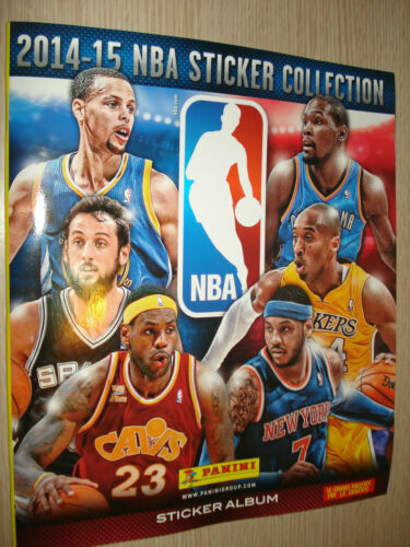 PANINI NBA OFFICIAL STICKER COLLECTION 2014-15 ALBUM VERSIONE ITALIANA