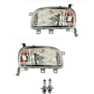 Scheinwerfer Set für Nissan MICRA II K11 01.92-02.03 H4 inkl PHILIPS