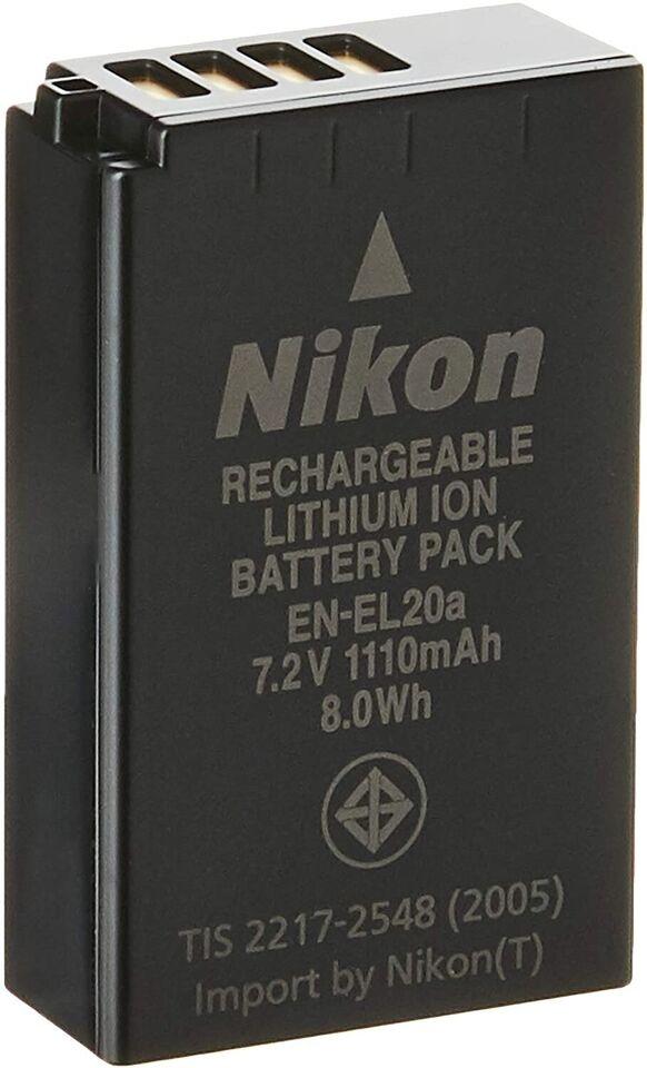 Ny Nikon EN-EL20a Li-Ion Akku 1 V3 Systemkamera, Nikon, NY