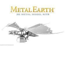 Fascinations Metal Earth Gringotts Dragon Harry Potter Laser Cut 3D Model Kit