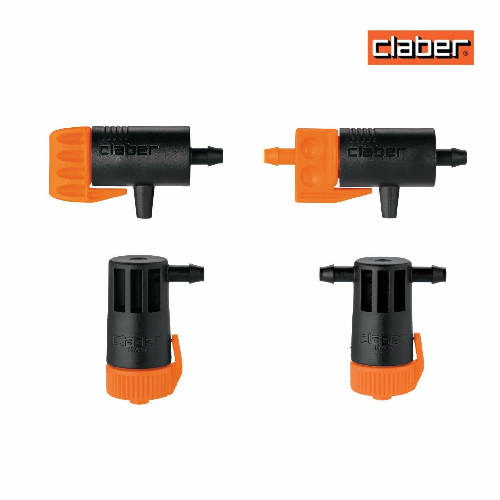 Claber Drippers In Line & End of Line - Hozelock compatible. Drip Irrigation