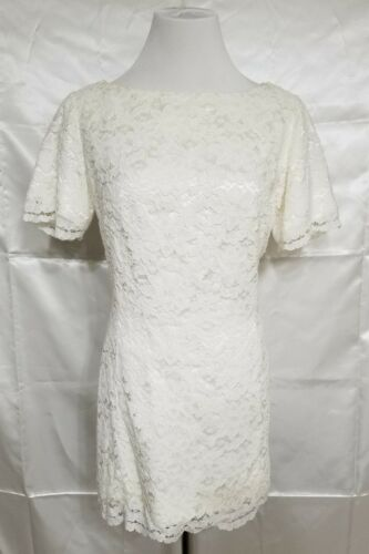 Vintage Marie St. Claire 8 Lace Ivory off white S… - image 1