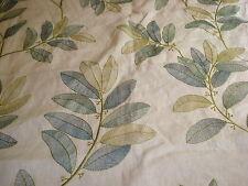 Designer's embroidered linen 1 3/4 yards