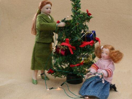 Casa de Muñecas en Miniatura 12 Volts. iluminación 12 Luces De Navidad Cadena Claro Reino Unido