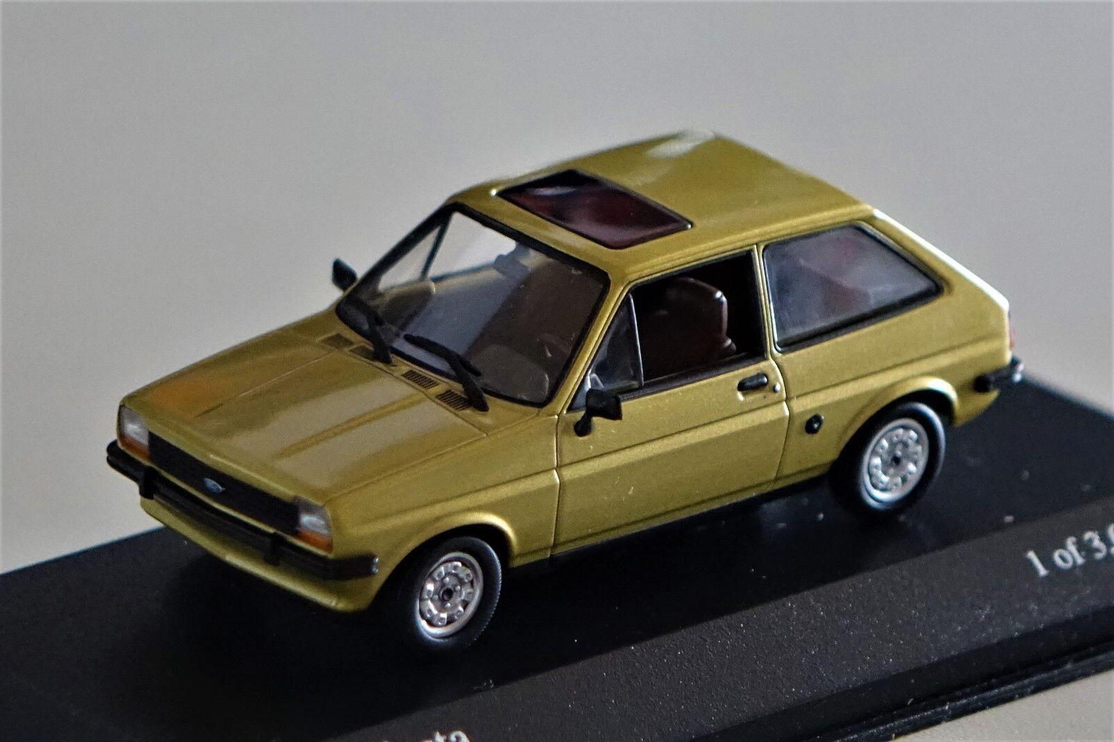 Ford Fiesta 1976 1 43 Minichamps neu & & & OVP 400085100  | Ich kann es nicht ablegen  cb6a0e