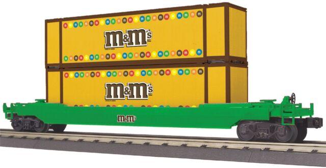 30-76391 MTH M&M's Husky Stack Car