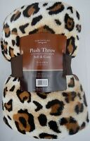 "Northpoint Soft & Cozy Animal Skin Print Plush Throw Blanket 50""x60"""