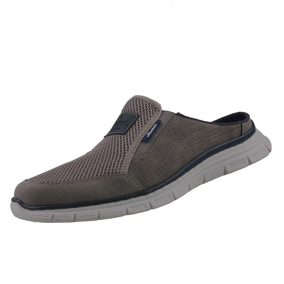 NUEVO Rieker Zapatos Hombre ZUECOS Mulas Sandalias deportiva de tiempo libre
