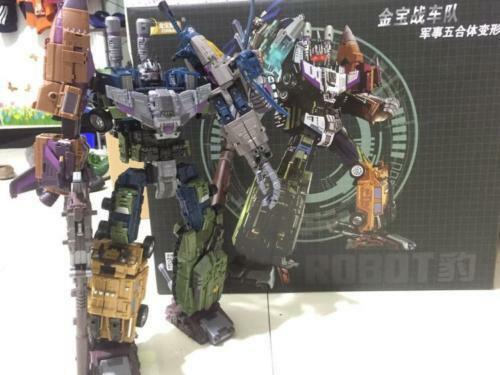 Jinbao K.O. OVERSIZED Warbotron Bruticus Robot Decepticons toy COOL Nuovo In Box