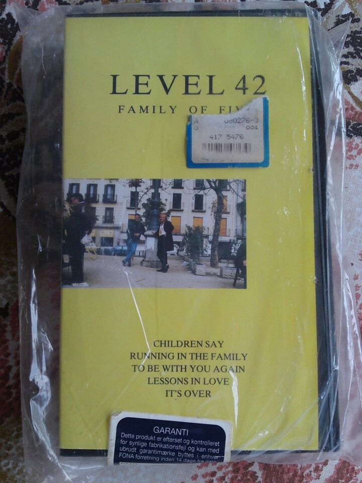 Musikfilm, Level 42 - family of five