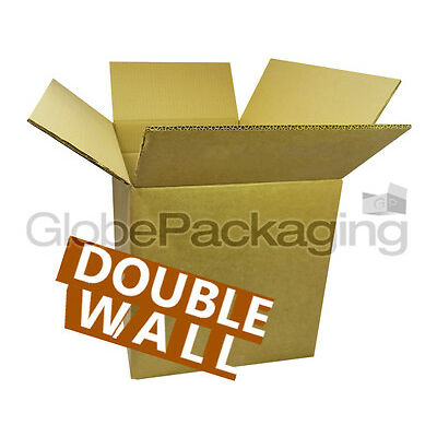 "10 SUPER XXL LARGE DOUBLE WALL CARBOARD BOXES 24x24X24"" *OFFER*"