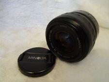 Minolta 35-80mm f4-5.6 Autofocus AF Zoom Lens For Sony Alpha -