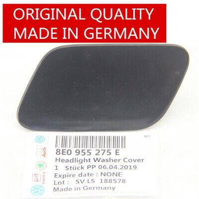 X AUTOHAUX 8E0955275E Car Front Left Headlight Washer Nozzle Cover for Audi A4 2005-2008