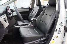 TOYOTA COROLLA 2014-2016 IGGEE S.LEATHER CUSTOM SEAT COVER 13 COLORS AVAILABLE