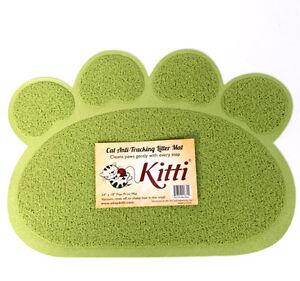 "Kitti Cat Litter Anti Tracking Mats - PAW PRINT 24"" x 16"""
