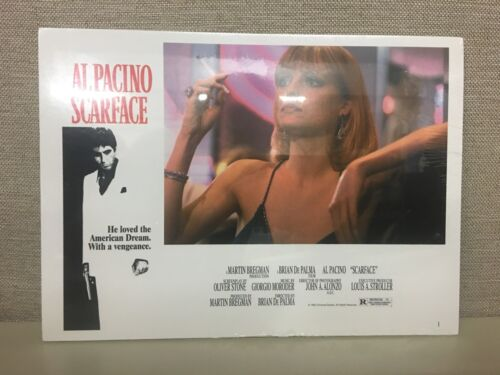 Scarface Movie Print Al Pacino Wall Decor Mob Gangster 1983 Sealed Plastic /& New