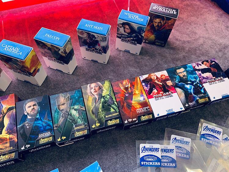 Hot Toys Avengers Infinity War Mini Magnet Box Art – Set of 10 - Brand New