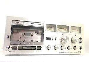 PIONEER-CT-F700-High-End-Stereo-Cassette-Deck-Vintage-1978-Refurbished-Like-NEW