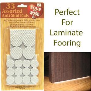 33pk anti-dérapant Tampons de forme ronde autocollante en bois Protecteur de plancher NEUF-afficher le titre d`origine eQwj3EyR-07140734-993554689