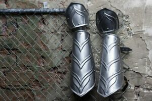 Pair-of-metal-bracers-elven-armor-arm-protection-for-larp-costume-elf-cosplay