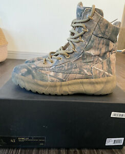 Canvas Boot Camo Adidas Boost 43