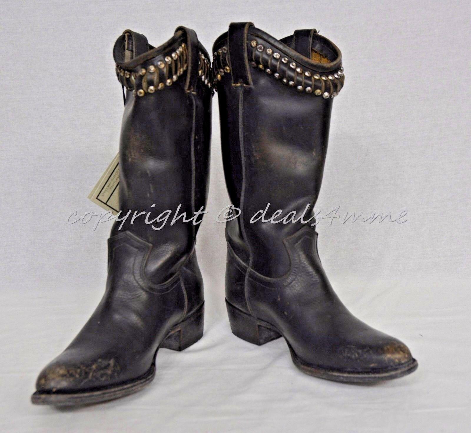 scelte con prezzo basso NIB Frye Diana Studded stivali Mid-Calf Donna  Dimensione 7.5 7.5 7.5 M in Distressed nero  sport caldi